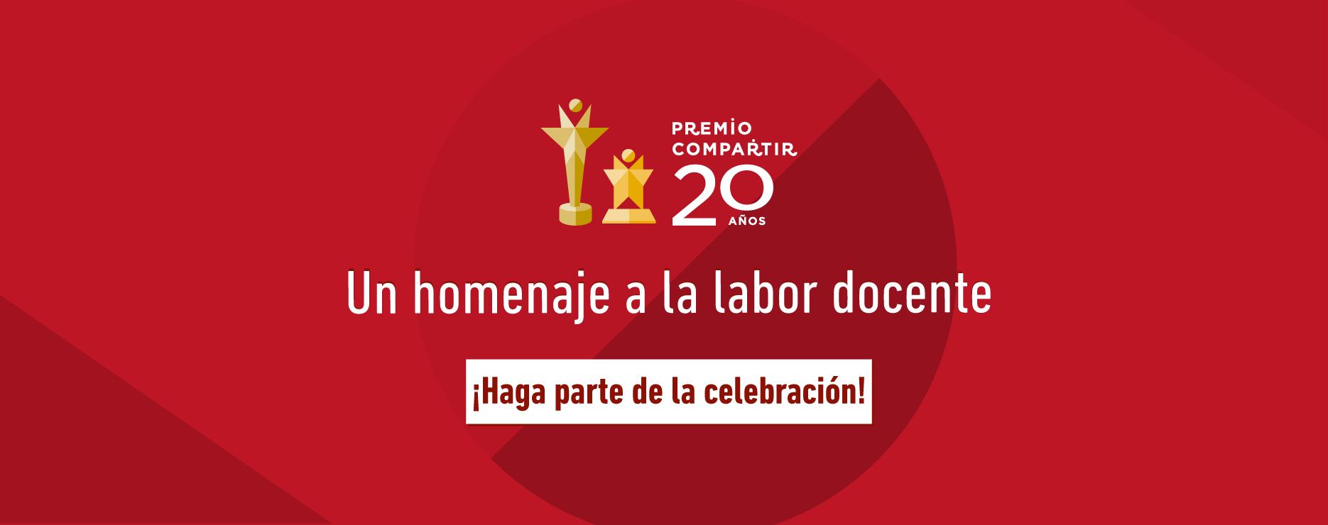 Premio Compartir 20 años