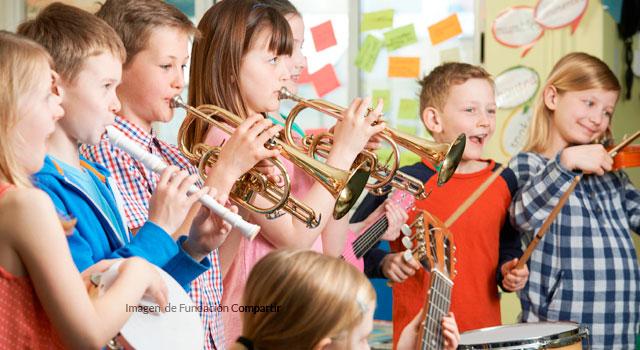 Aprender música desde niños, ahora es más fácil