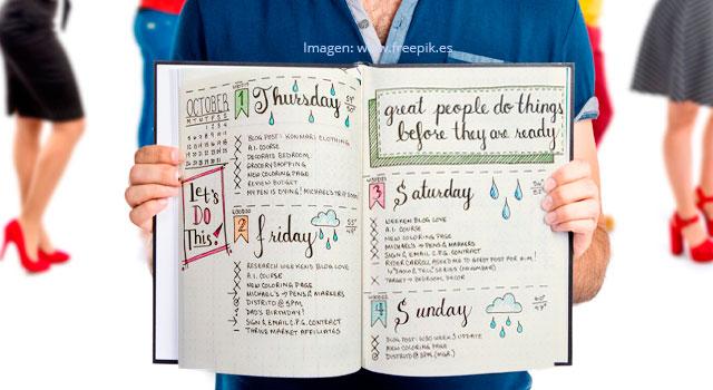 ¿Cómo hacer un Bullet Journal para tener un tiempo más productivo?