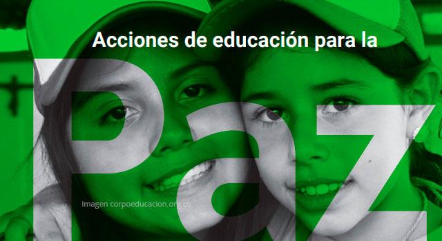 Descargue la guía pedagógica 'Acciones de educación para la paz' en el municipio de Tibú.