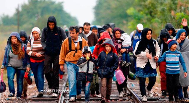 El drama humano de los migrantes, una realidad cada vez más fuerte