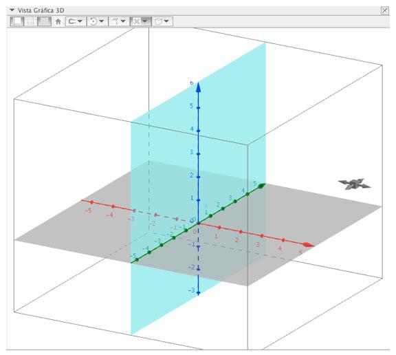 Geogebra en tres dimensiones, área y volumen de un cilindro