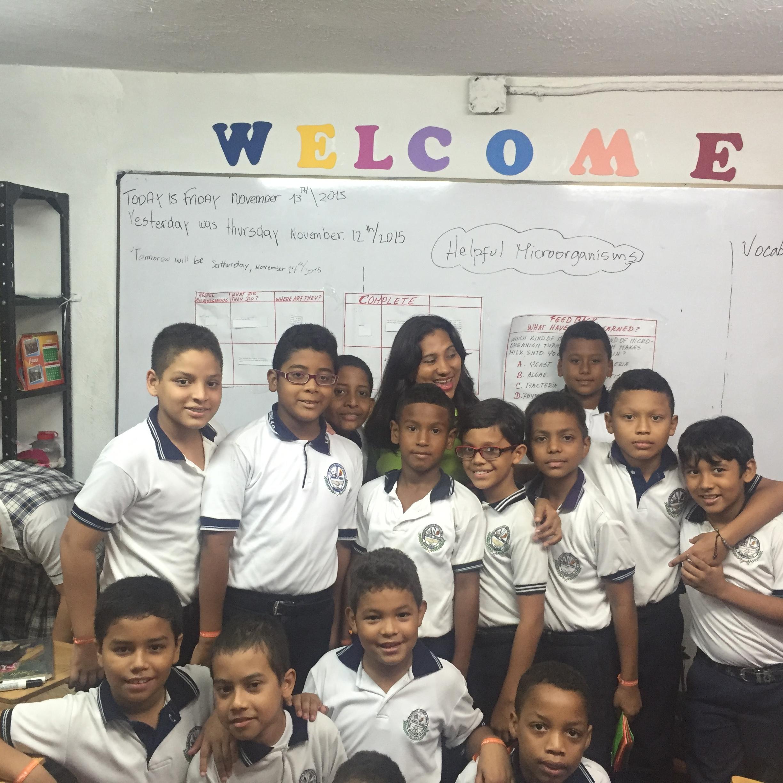 Alunmos Institución Educativa Distrital Jorge Nicolás Abello