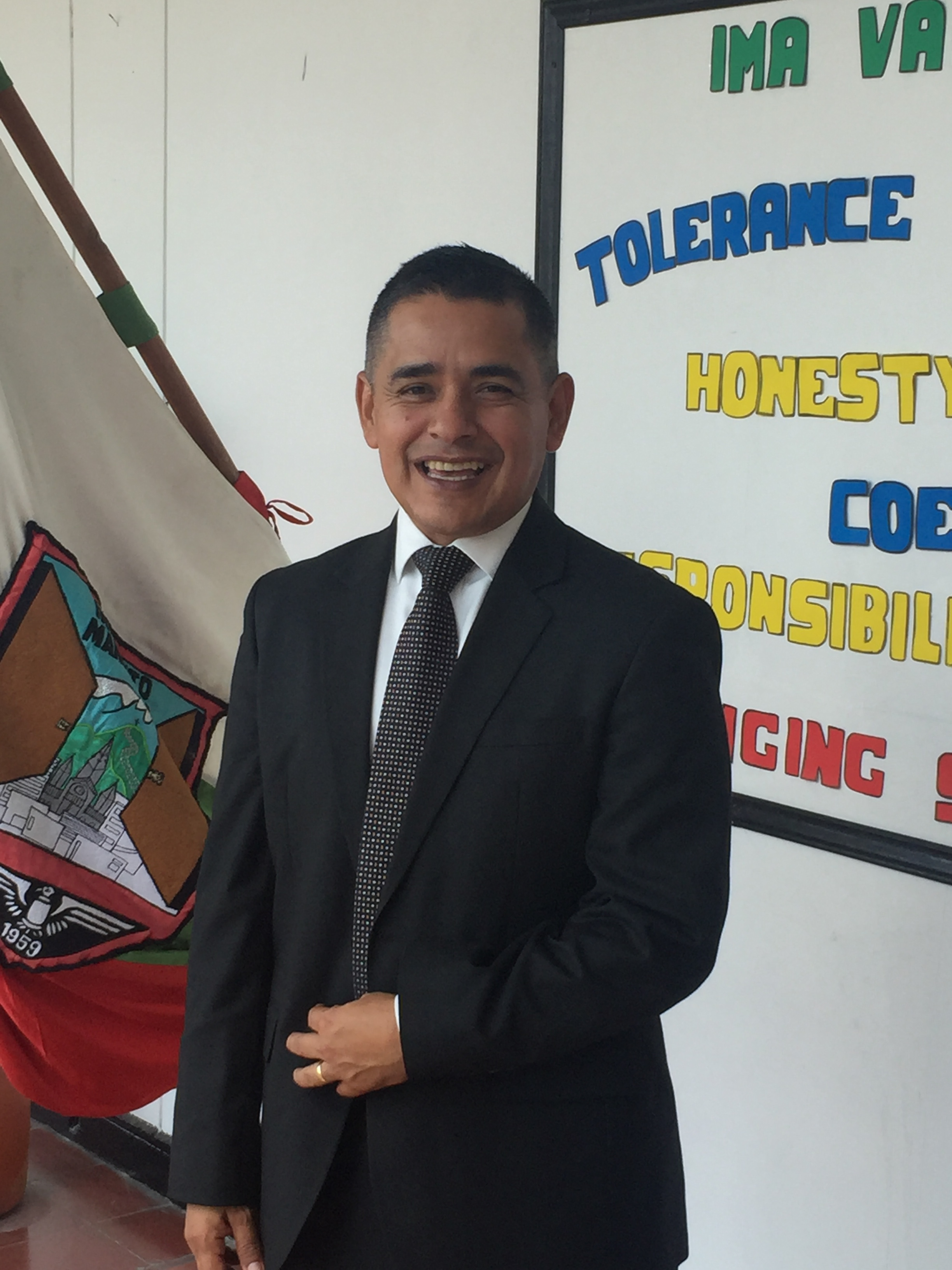 Rector Francis Rodrigo Otero Gil