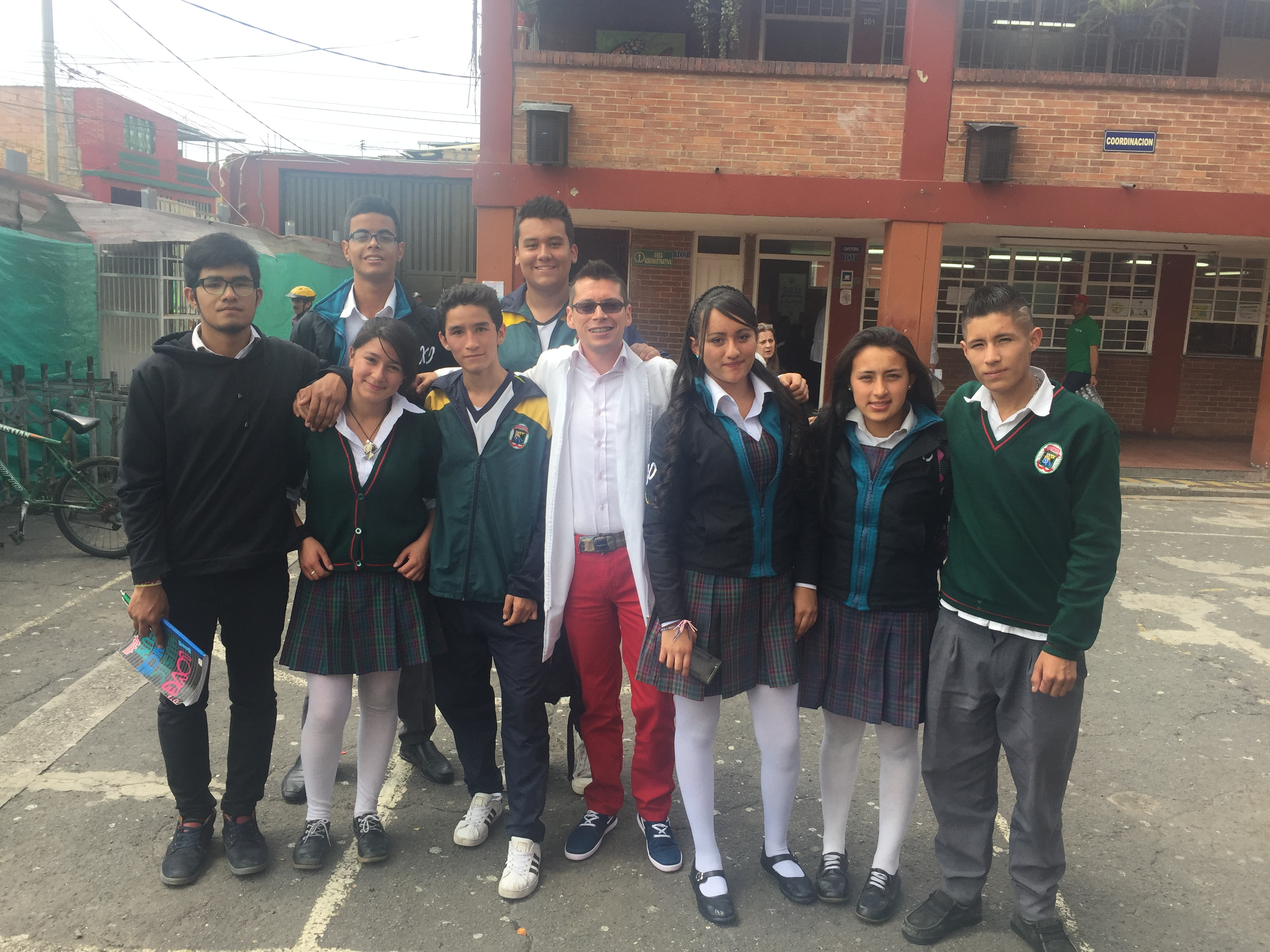 Con mis alumnos