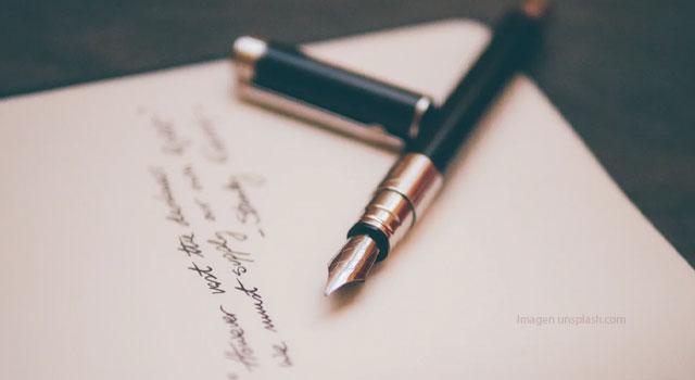 La carta personal. Actividad de expresión escrita