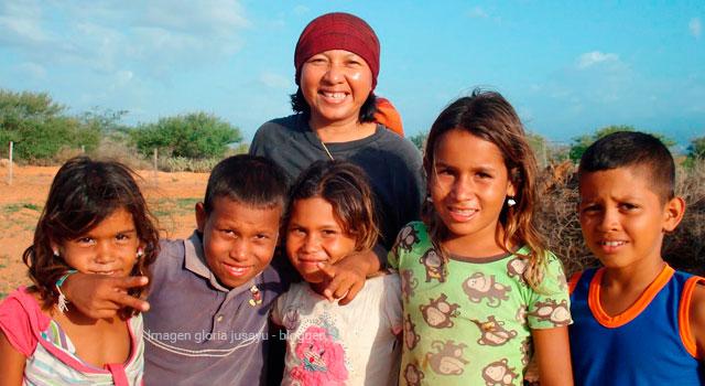 La educación como fuente de superación en los niños Wayúu