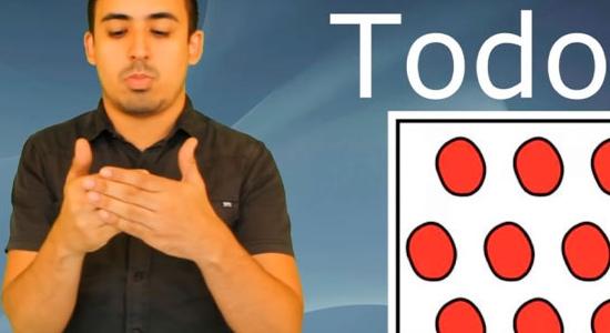 ¡A aprender lenguaje de señas!