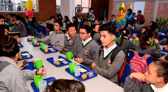 Bogotá cuenta con 152 comedores escolares en operación | Compartir ...