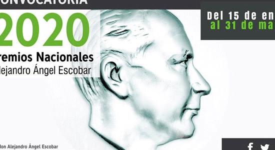 Convocatoria 2020 Premios Alejandro Ángel Escobar: inscripciones abiertas