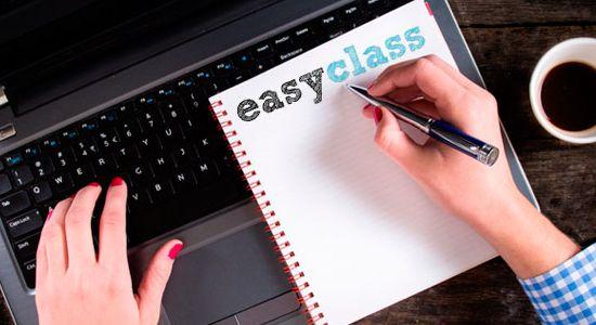 Cree y gestione clases digitales con Easyclass