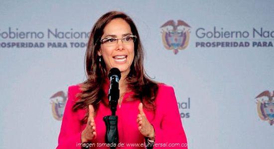 Ministra de Educación Gina Parody