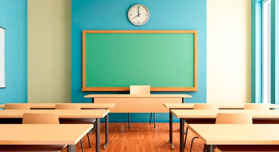 El aula vacía