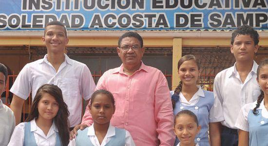 I.E. Soledad Acosta de Samper: ¡Una institución que forma  y transforma!