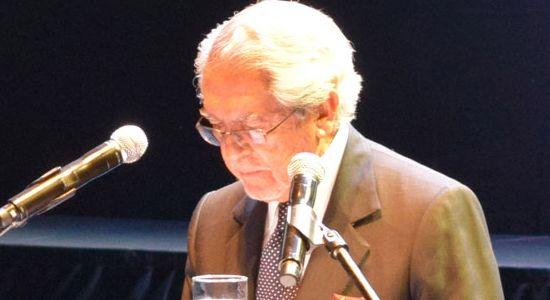 Palabras de Pedro Gómez Barrero en la Ceremonia del Pemio Compartir