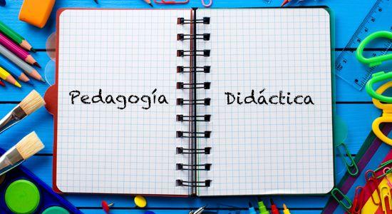 Resultado de imagen para Pedagogía y didáctica: relaciones y diferencias