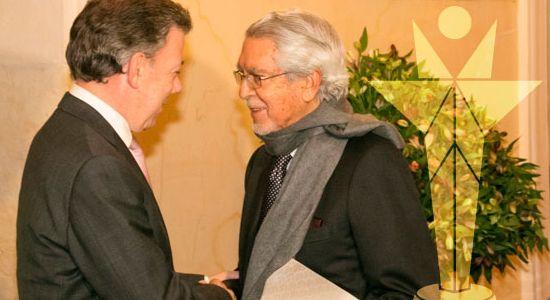 Presidente Santos en el Premio Compartir 2015
