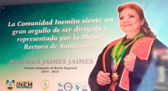 Reconocimiento profesora Graciela Jaimes Jaimes
