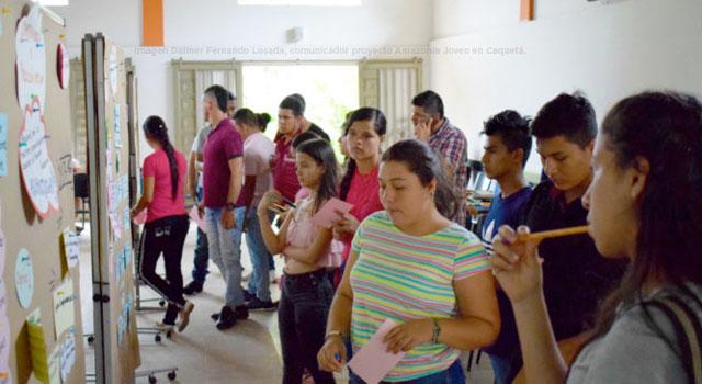 Un proyecto integral que fortalece a jóvenes del Caquetá